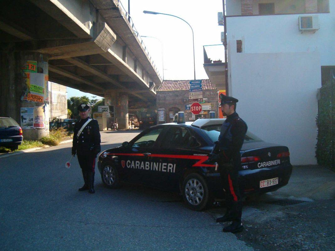 carabinieri barcellona pozzo di gotto