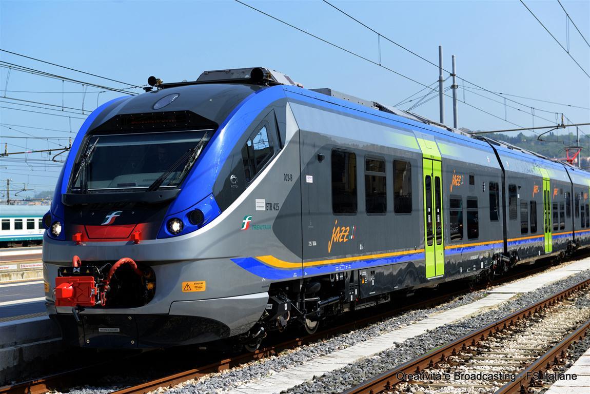 Trasporti: in Sicilia arrivano due nuovi treni, modello Jazz della Alstom