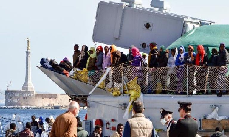 Messina: 200 bambini stranieri giunti in città