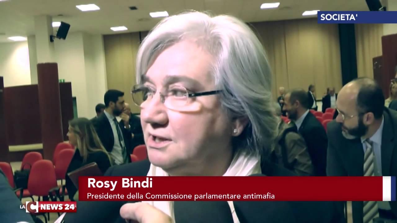 """Rosy Bindi all'Universita' della Calabria: """"La 'ndrangheta, opera attraverso la corruzione"""""""