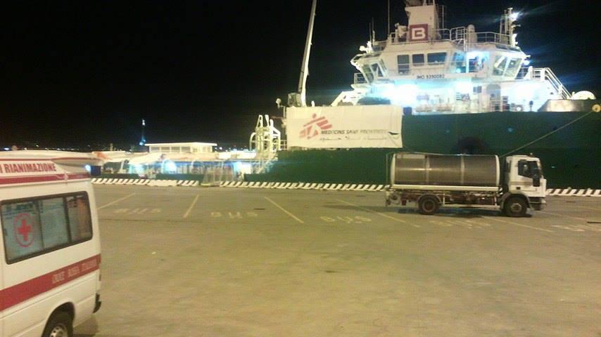 Molo Marconi, Messina: un nuovo arrivo di 219 migranti