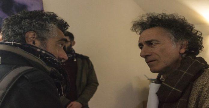 Da sinistra l'attore David Coco e il regista Franco Jannuzzi