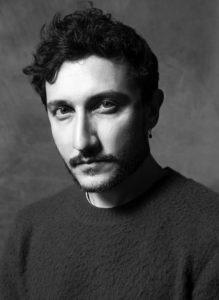 Lo stilista Marco De Vincenzo