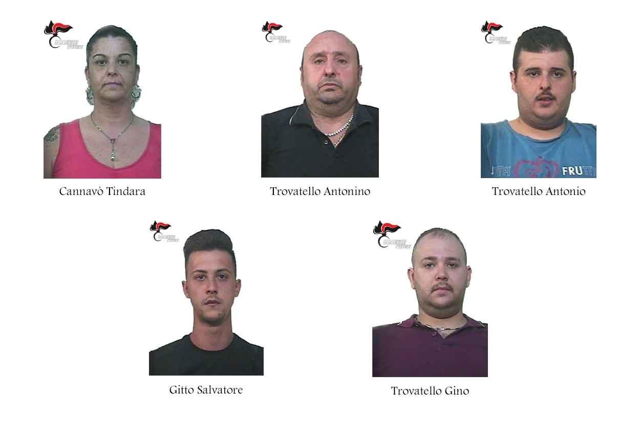 Barcellona, un'intera famiglia arrestata per spaccio di droga