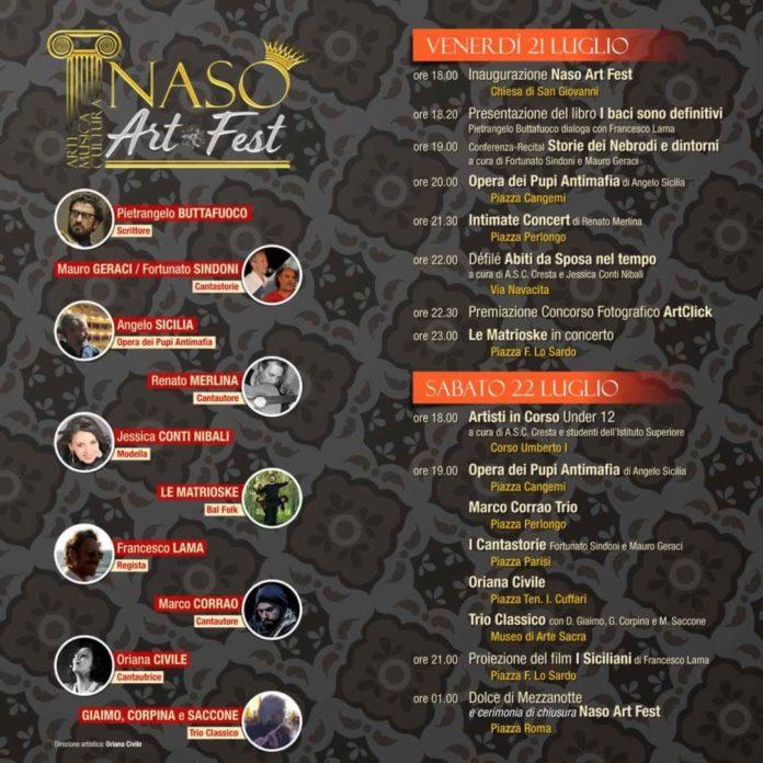 Naso Art Fest locandina
