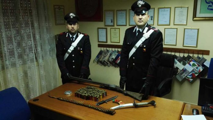 Armi-e-munizioni-sequestrate-a-Santa-Lucia-del-Mela