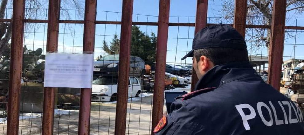 La Polizia Ferroviaria di Taormina, unitamente alla Squadra di Polizia Giudiziaria compartimentale, nel corso di mirati servizi volti al contrasto dei furti e della ricettazione di rame ed altro materiale ferroso, ha sottoposto a controllo una ditta sita